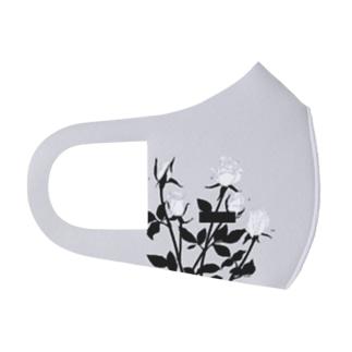 花 Full Graphic Mask