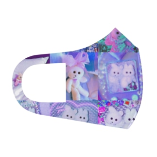 kmakici flashy Full Graphic Mask