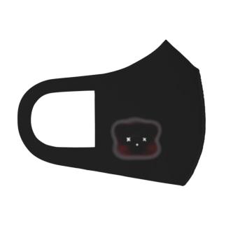 うさぎとくまのマスク Face Mask