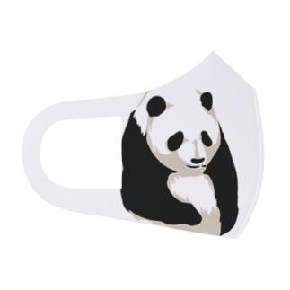 パンダマスク Full Graphic Mask