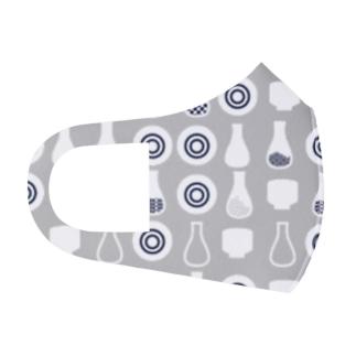 日本酒大好き Full Graphic Mask