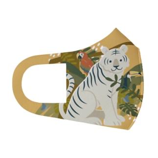 ジャングル(YELLOW) Full Graphic Mask