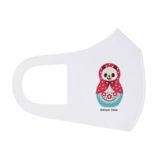 パンダマトリョーシカ Full Graphic Mask
