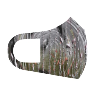 abstract Full Graphic Mask