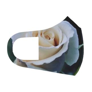 白薔薇 Full Graphic Mask