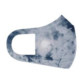 Blue Moon Sky Full Graphic Mask