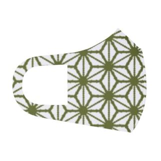 麻の葉 Full Graphic Mask