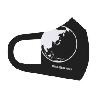マスク THE EARTH Full Graphic Mask