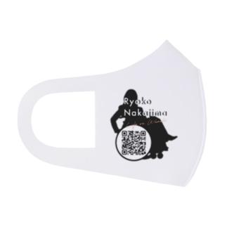 Logo w/ QR code Full Graphic Mask