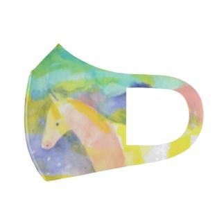 仔馬の吐息マスク Full Graphic Mask