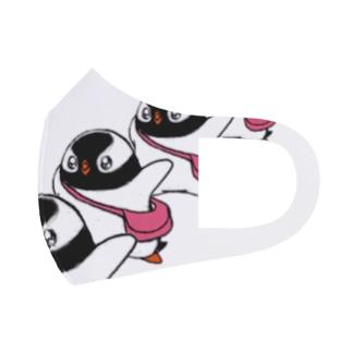 プピゴン「ドーン!」 Full Graphic Mask