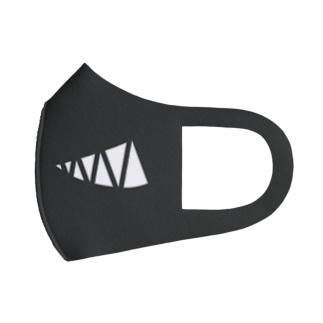 悪巧みマスク1 Full Graphic Mask