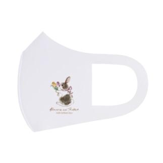 Rabbit -チューリップ- Full Graphic Mask