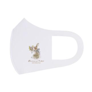Rabbit -花束- Full Graphic Mask