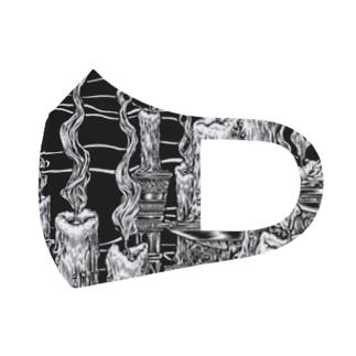 Circle-fireborn. Full Graphic Mask