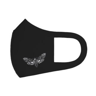 メンガタスズメ Full Graphic Mask