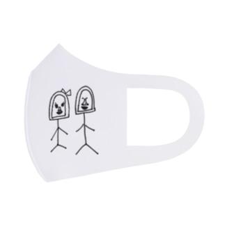 ゴリオとゴリ子 Full Graphic Mask