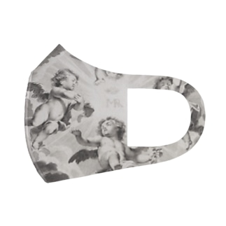 4 Angels Full Graphic Mask