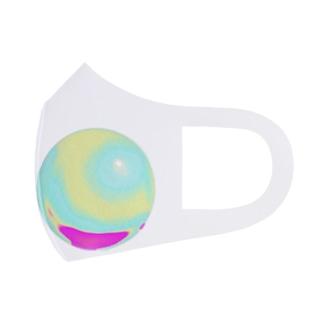 ホログラム球体 Full Graphic Mask