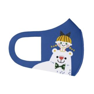 SHIROKUMA GIRL Full Graphic Mask