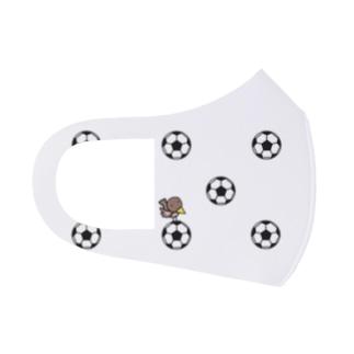 サッカーボール マスク Full Graphic Mask