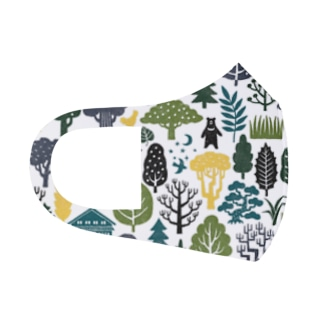 forest Full Graphic Mask