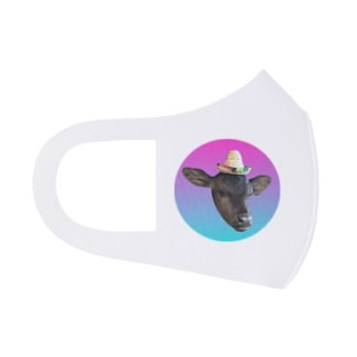Happy calf yuu-kun! Full Graphic Mask