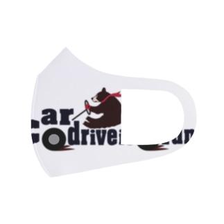 クマドライバー Full Graphic Mask