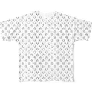 ソウガシ フルグラフィックTシャツ