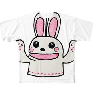 ゆたかグッズ Full graphic T-shirts