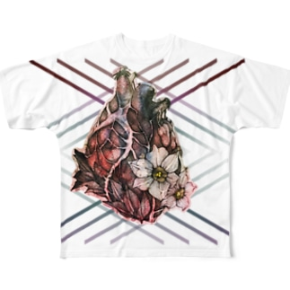 水仙 Full graphic T-shirts