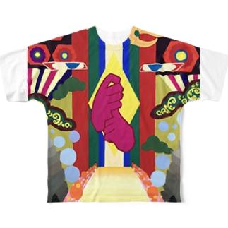 高野山‐kouyasan‐ Full graphic T-shirts