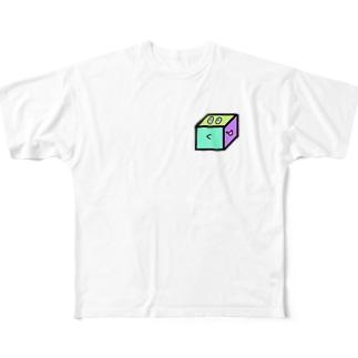 いぇいcube Full graphic T-shirts