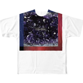 Amethyst Full graphic T-shirts