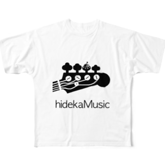 hidekamusic/special UFO edition Tシャツ Full graphic T-shirts