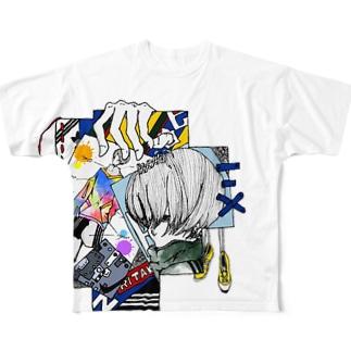 和洋折衷 Full graphic T-shirts