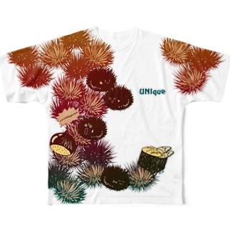 うにーく!スパイシーレッド Full graphic T-shirts