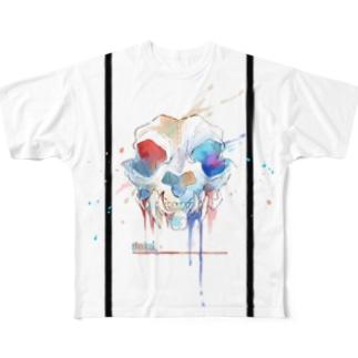 RAINbone フルグラフィックTシャツ