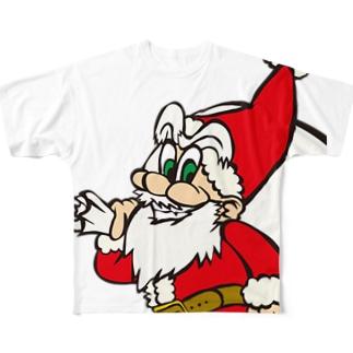 メリー・クリスマス! Full graphic T-shirts