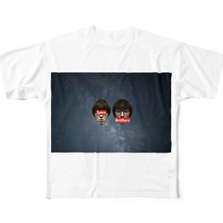 宇宙兄弟 Full graphic T-shirts