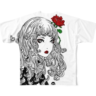 Roze age Full graphic T-shirts