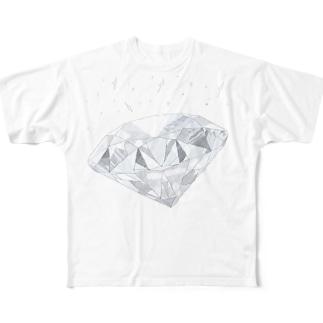 ダイヤなやつ Full graphic T-shirts