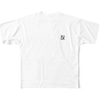 fuck Full graphic T-shirts