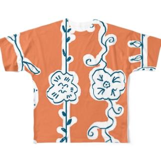 おはな Full graphic T-shirts