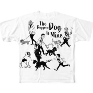 The Doggone Dog Is Mine  Boys Full graphic T-shirts