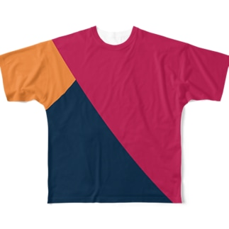 COLOUR  GARMAIN Full graphic T-shirts