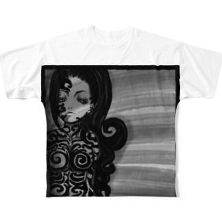 No.1 Full graphic T-shirts