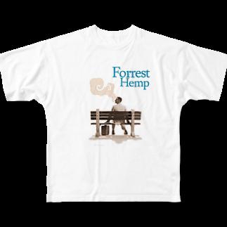 LIFTING WORKSのForrest Hemp Full graphic T-shirts