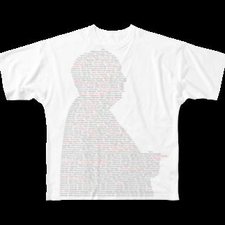 minolのhitch Full graphic T-shirts