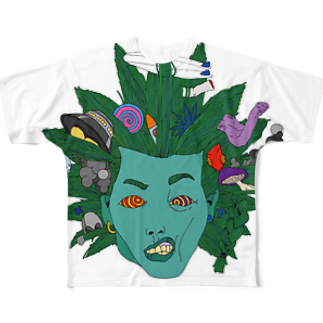 7dimensionsのzombie me Full graphic T-shirts